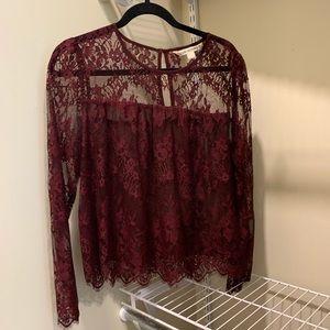 Hippie Laundry Lace Blouse